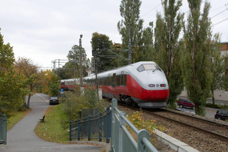 nsb jernbane tog
