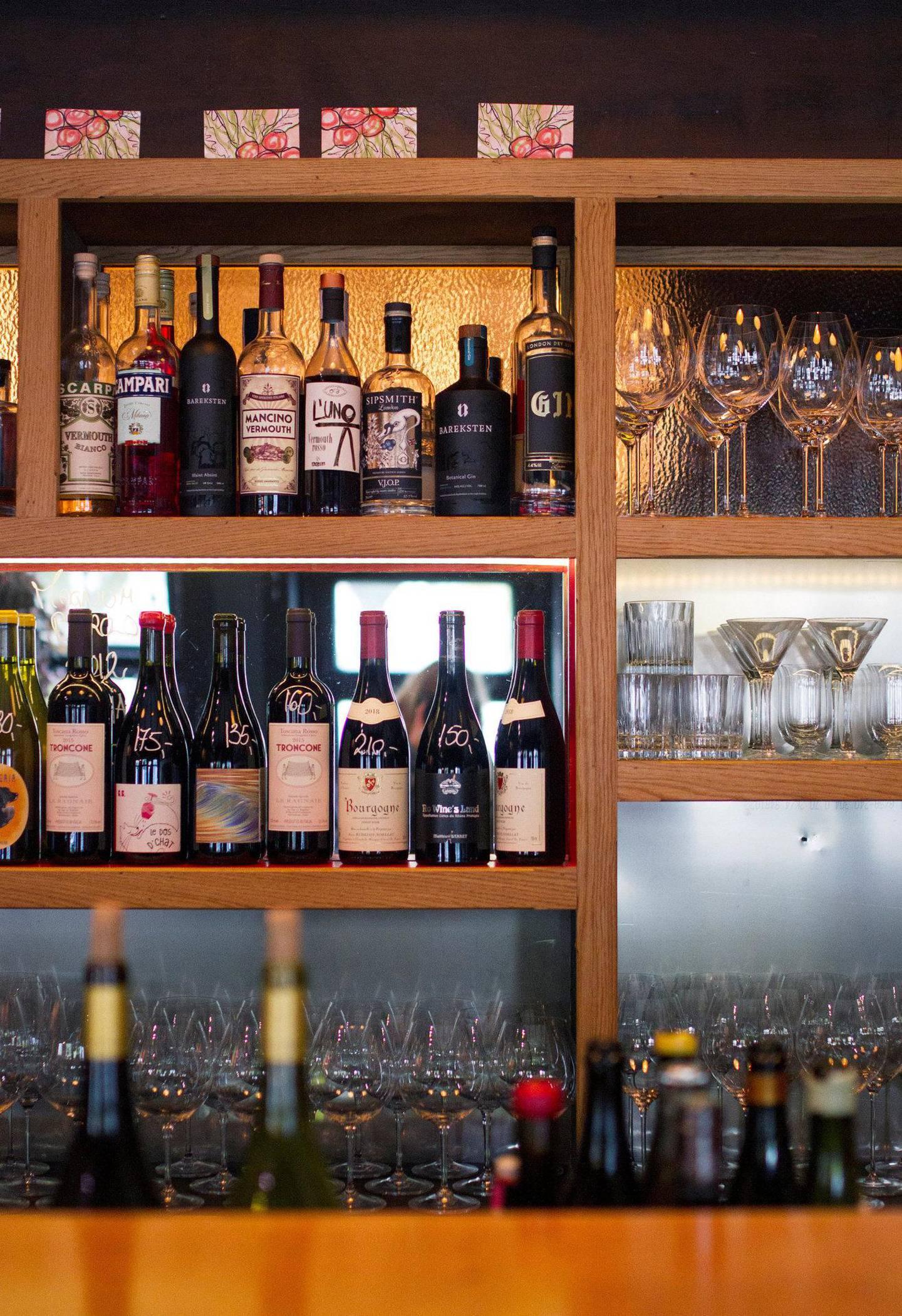 Nektar Vinbar i Fredensborgveien er et ypperlig sted for både vin og mat. Alle foto: Amanda Iversen Orlich