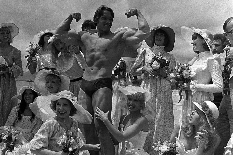 Arnold Schwarzenegger er en gjenganger i Cannes, men det er lenge siden han var i filmbyen kun på grunn av musklene.