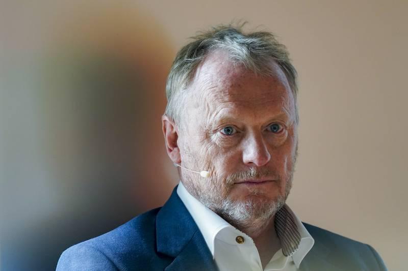 Oslo 20210527.  Byrådsleder Raymond Johansen (Ap) deltar når det nye Munch-museet presenterer program og åpningstidspunkt.  Foto: Torstein Bøe / NTB