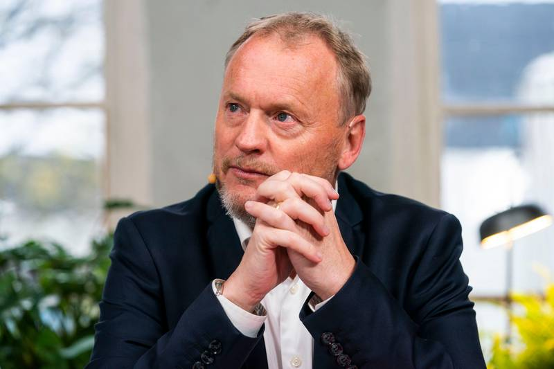 Oslo 20191022.  Raymond Johansen fra Arbeiderpartiet under pressekonferansen om byrådsforhandlingene i Oslo. Foto: Håkon Mosvold Larsen / NTB scanpix