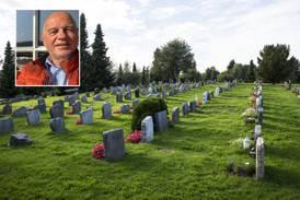 Kirken kan bli fratatt ansvaret for gravplassene: – Vi må ikke skyve innvandrerne foran oss