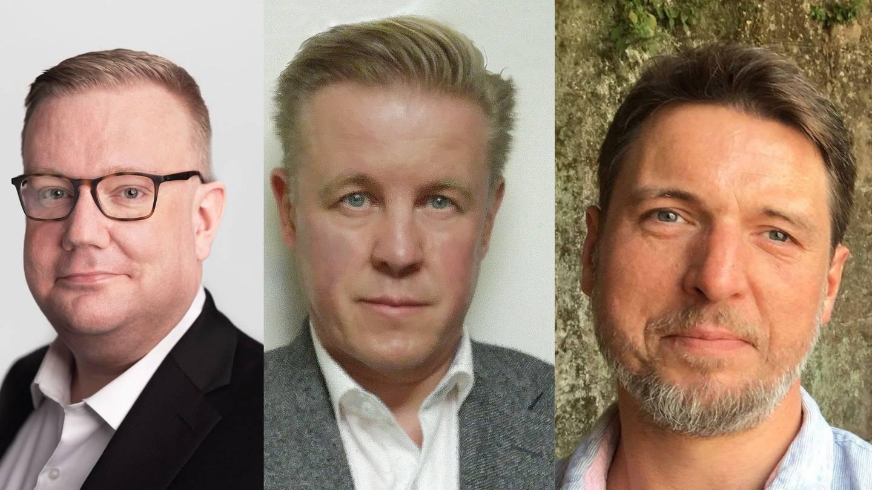 Olav Lægreid, Anthony C. Caffrey og Hans Christian Smith.