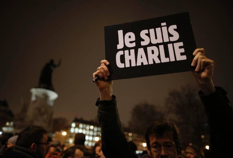 I forbindelse med toårsmarkeringen etter terrorangrepet mot Charlie Hebdo-redaksjonen i 2015, har Filter Nyheter gjennomført en spørreundersøkelse om blasfemi blant norske muslimer. Foto: NTB scanpix