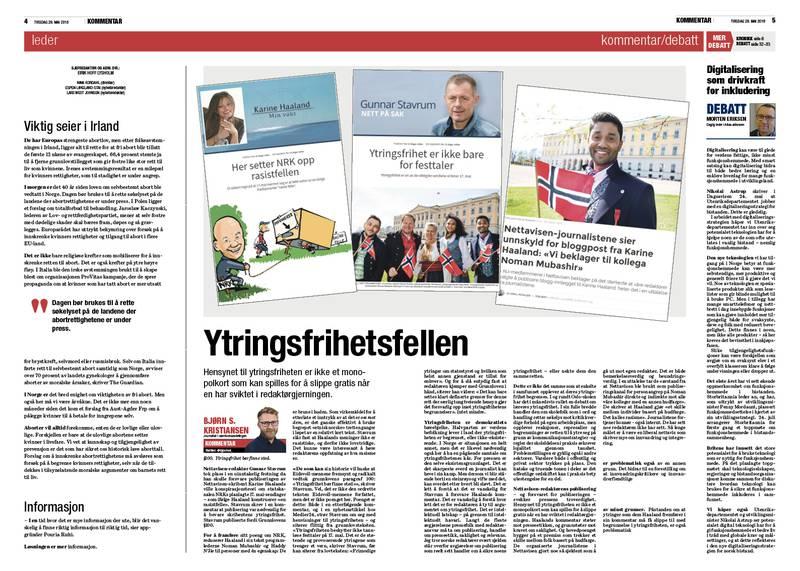 ILLUSTRASJON: Skjermdumper fra Nettavisen og Medier24.
