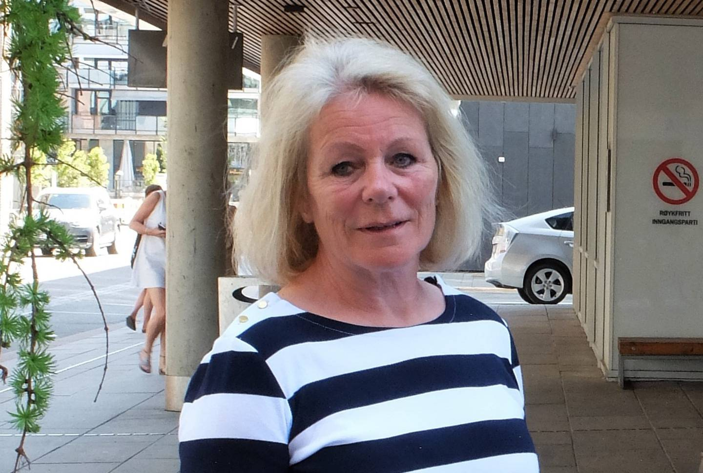 Leder for Fagforbundet i Drammen, Elisabeth Schjenken Arntsen