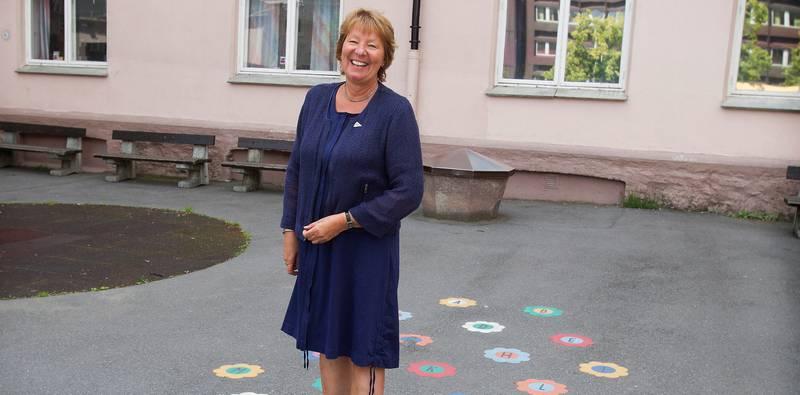 Elev: Ordfører Marianne Borgen (SV) gikk på Ruseløkka. FOTO: Arne Ove Bergo