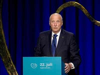 Kong Harald: Vi har ikke gjort nok for å motarbeide de mørke kreftene
