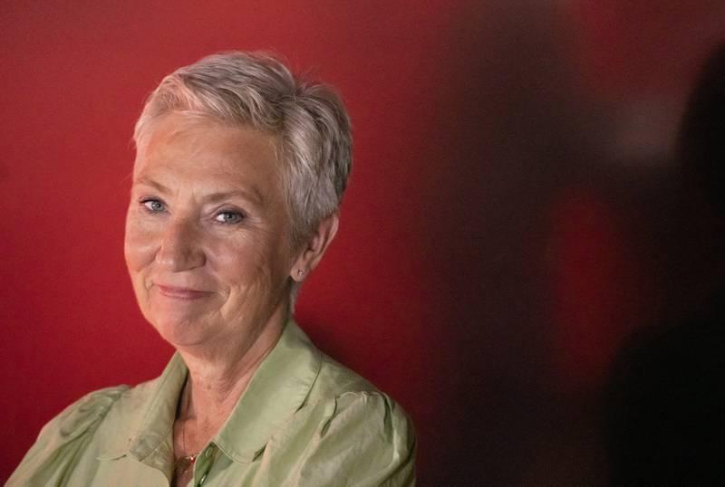 LO-leder Peggy Hessen Følsvik under Arendalsuka i august.