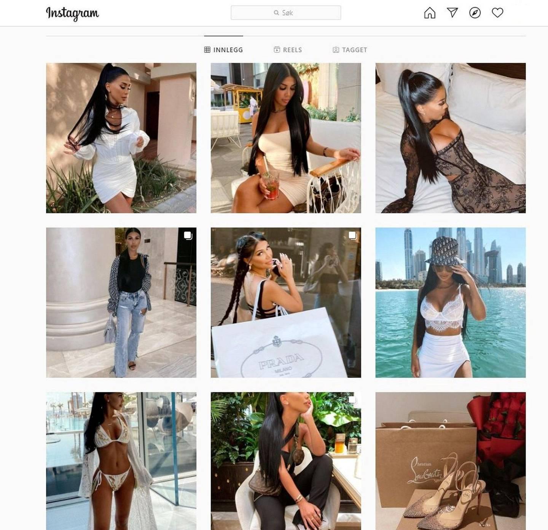 Blogger og influenser Isabel Raad har fått mye  kritikk etter at hun valgte å ikke følge reiserådene.  Skjermdump: Instagram\Isabel Raad