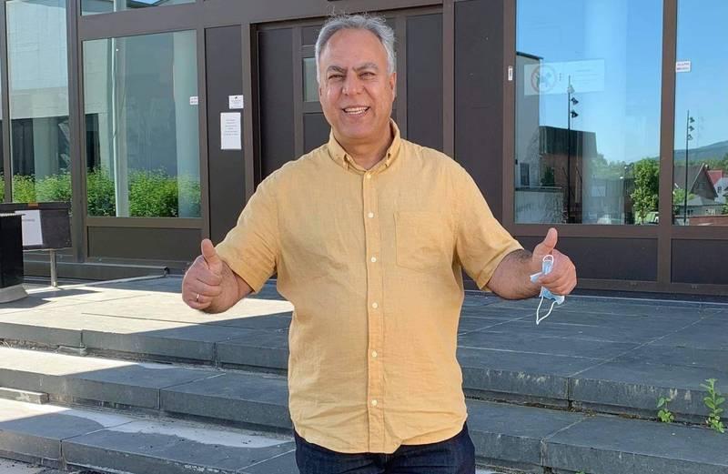 Bijan Gharahkhani er nyvalgt leder for det første flerkulturelle rådet i Viken fylkeskommune.
