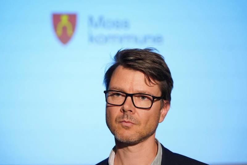 Kommuneoverlege Kristian Krogshus i Moss.