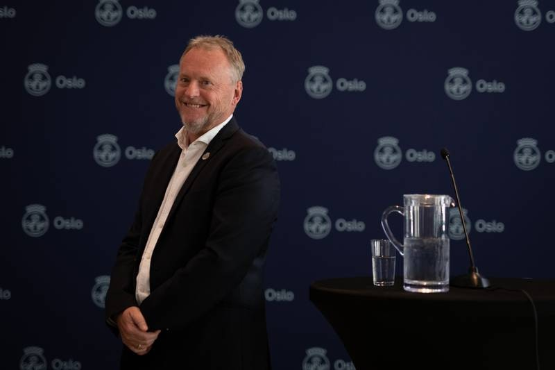 Raymond Johansen: Pressekonferanse Oslobudsjettet for 2022.