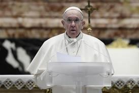 Paven kaller verdens konflikter skandaløse