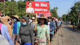Myanmars tornefulle vei