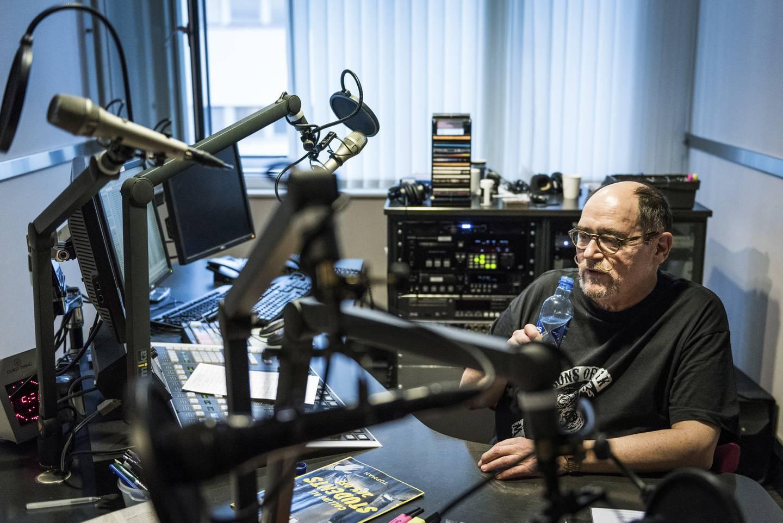 Harald Are Lund, her i 2016, da han fylte 70 og sluttet i NRK etter 50 år.