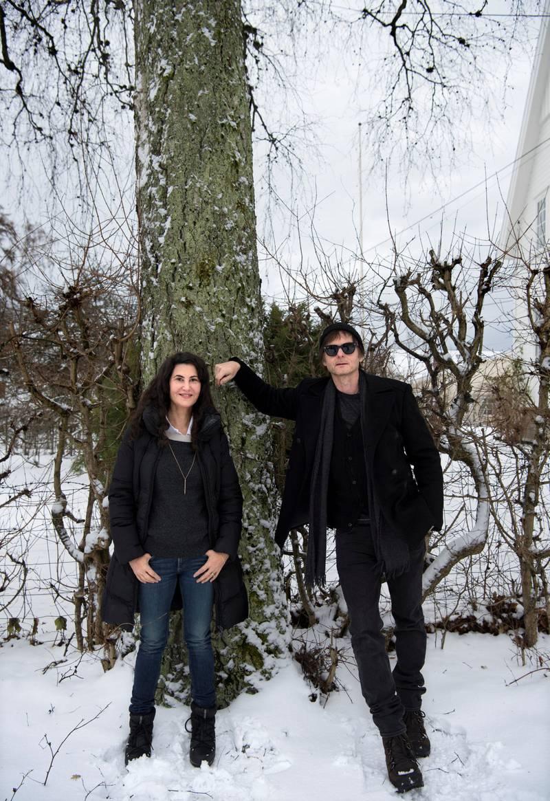 Lauren og Pål Waaktaar Savoy, tilbake i vinternorge for å gi ut nytt album, og konsert på Parkteatret torsdag.