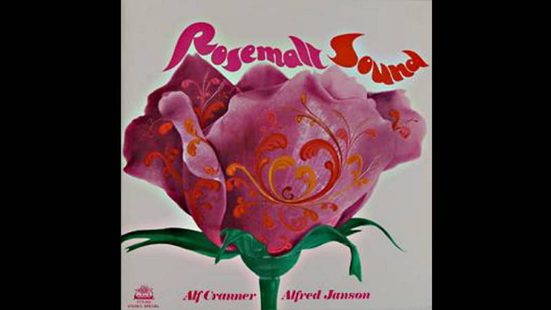 Alf Cranner/Alfred Janson: «Rosemalt sound» (1971). Dersign: Chris White.