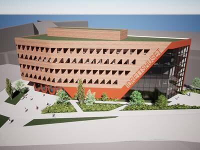 Coop og kommunen vil bygge blokk ved DNB Arena
