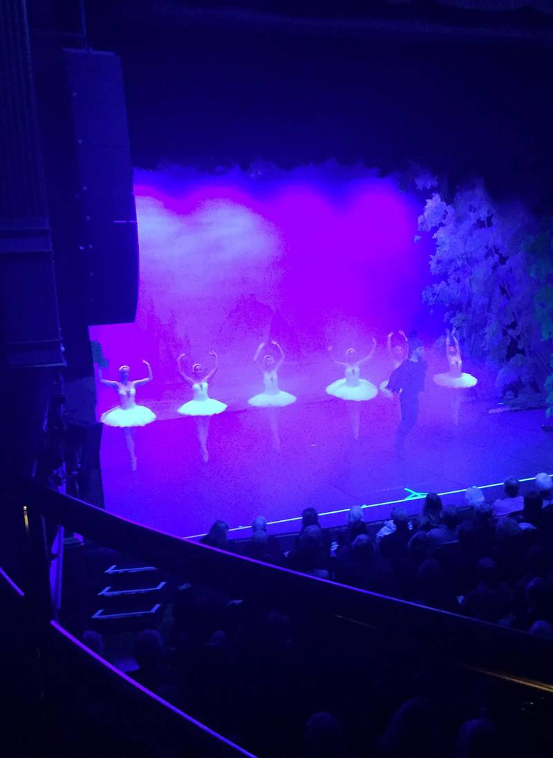 Svanesjøen: Et stort øyeblikk for meg, Moskva-balletten i teatret.