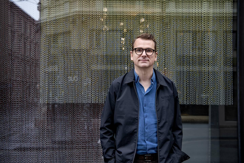 Mattis Øybø. Forfatter og forlagsredaktør.