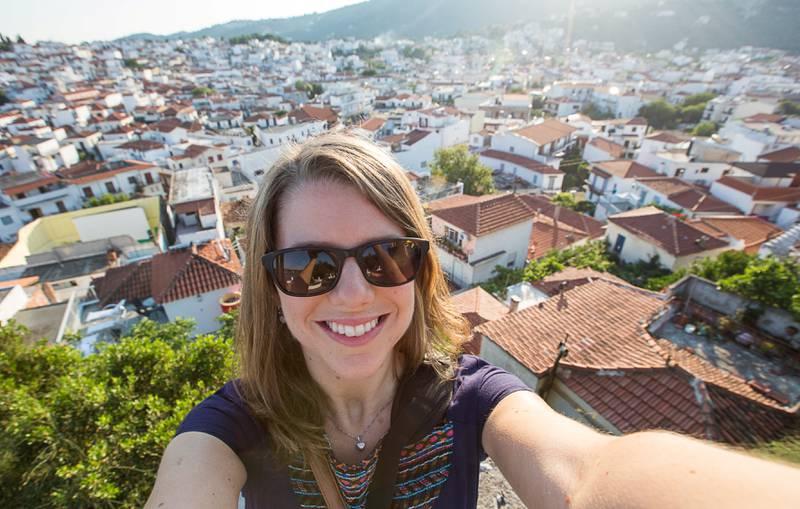 Ingeborg Lindseth er blitt kåret til Norges beste reiseblogger. FOTO: PRIVAT
