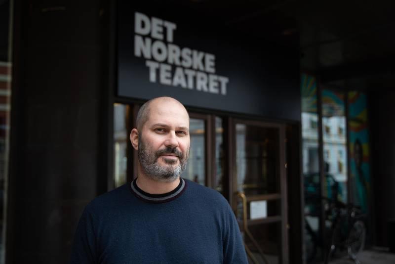 Teatersjef for Det Norske teater Erik Ulfsby