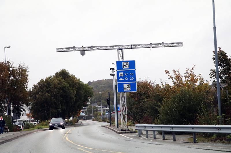 I Travbaneveien, der bommen nå skiller Ikea og bensinstasjonene på Forus, blir det ikke lenger bomstasjon.