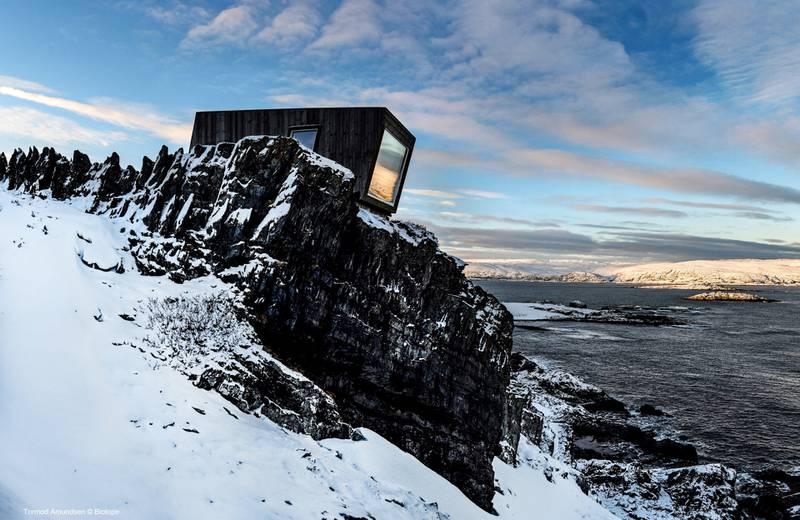 Arkitektkontoret Biotope har jobbet hardt for å etablere Varanger som verdens beste arktiske fuglekikkerdestinasjon. Også for arkitekturelskere. FOTO: TORMOD AMUNDSEN/BIOTOPE