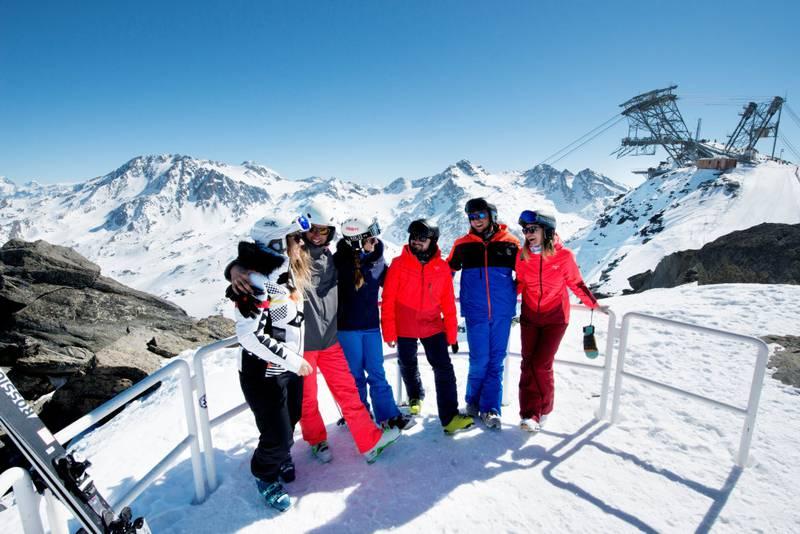Val Thorens er det mest populære skistedet blandt nordmenn, ifølge skireiseselskapene. FOTO: VAL THORENS