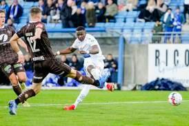 Alioune Ndour med hattrick på 19 minutter da Haugesund knuste Mjøndalen 7-0
