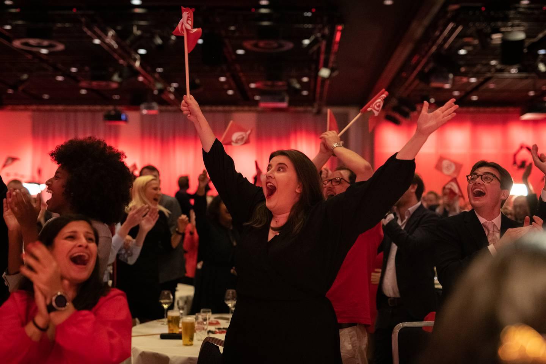 Arbeiderpartiet valgvake 2021