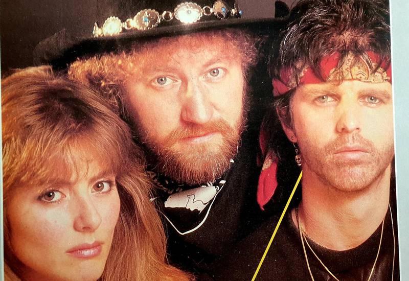 Claudia Scott, Ottar «Big Hand» Johansen og Casino Steel slo seg sammen i 1983. Foto: Big Hand Records