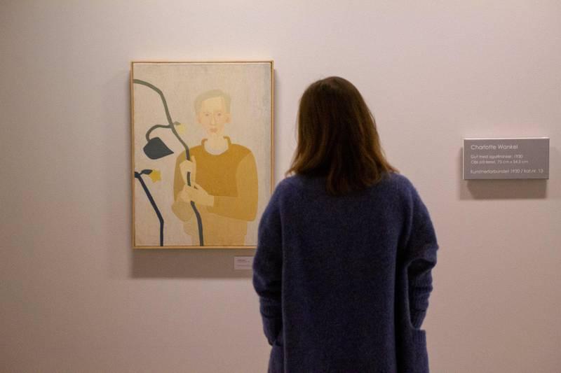 Charlotte Wankel-utstillingen på Galleri F15 ble en stor publikumssuksess som ga den tidlige avantgardekunstneren et solid navn i norsk offentlighet. Foto: Punkt Ø