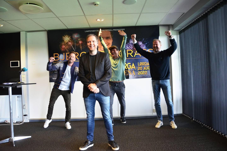 Komiker Rune Bjerga vil fylle stadion i Jåttåvågen med 15.000 publikummere.