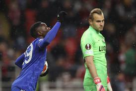 Fire Daka-mål da Leicester vendte 0-2 til seier i Moskva