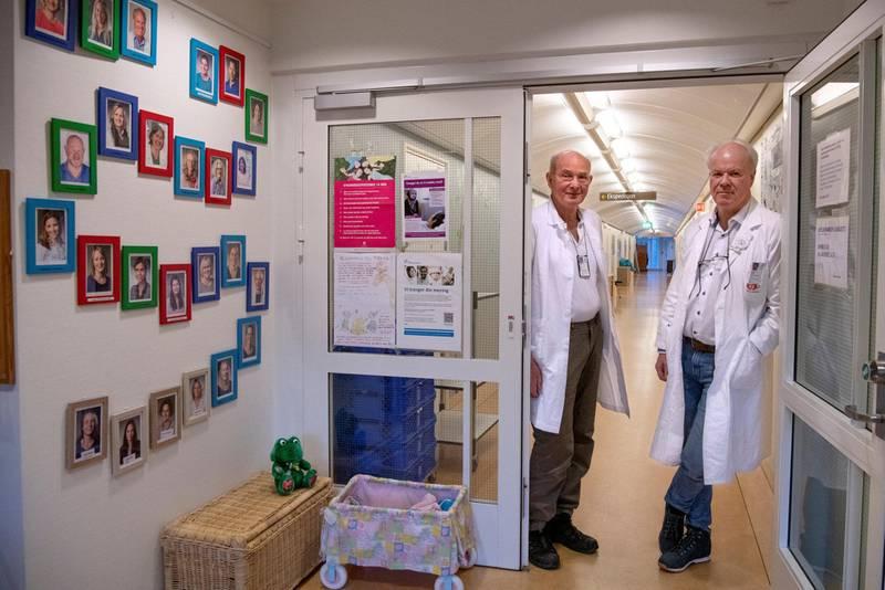 Barnepsykiaterne Stein Førde og Trond Diseth er blant fagfolkene som har reagert sterkt på smilefjesundersøkelsen. Foto: Mimsy Møller