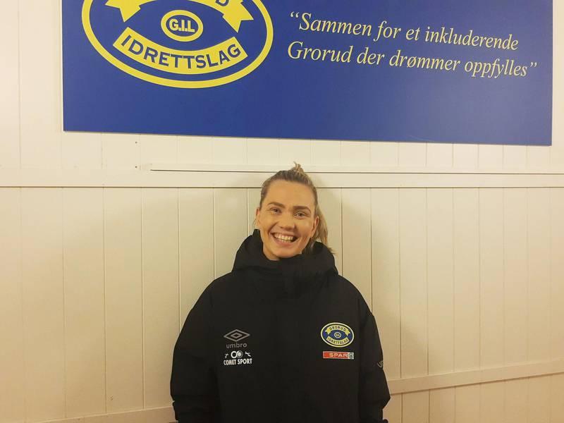 Vilde Mollestad Rislaa er leder av barnefotballen i Grorud Idrettslag.
