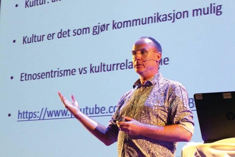 Sarpsborg kommunes rådgiver for mangfold, inkludering og likeverd, Flemming Johnsen.