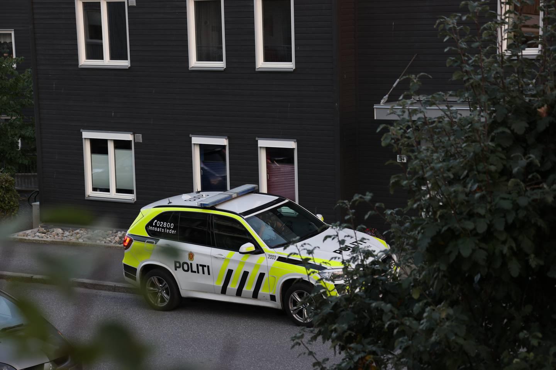 En kvinne ble i august i fjor drept i sin bolig i Glassverket i Moss. Nå er ektemannen hennes tiltalt for drapet. Foto: Ørn E. Borgen / NTB