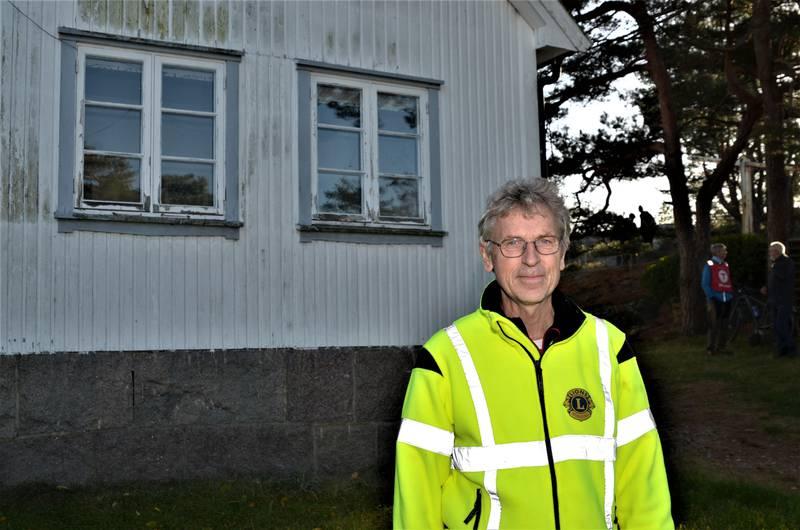 – Pynten kan bli et fint prosjekt for oss, mener president i Kråkerøy Lions, Tore Skaaden.