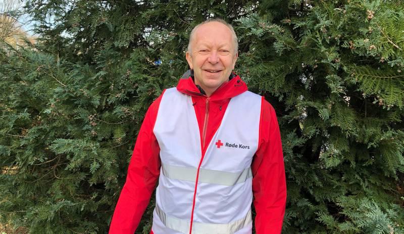 Trond Mæland, leder i Sola Røde Kors. Foto: Røde Kors