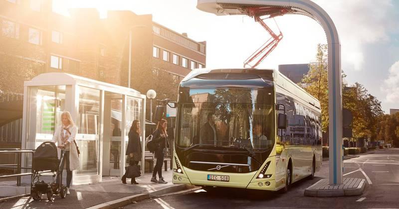 Elektriske busser er allerede tatt i bruk flere steder, som i Göteborg. FOTO: VOLVO BUSSAR AB