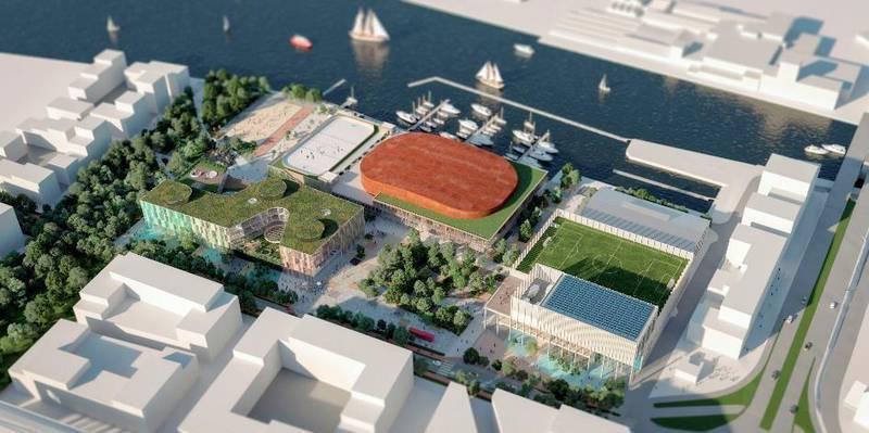 En reduksjon i antallet publikumsplasser fra 3900 til 3250 og ingen utnytting av taket som utomhus-areale er blant grepene som foreslås for å bringe Arena Fredrikstad-kostnadene ned.