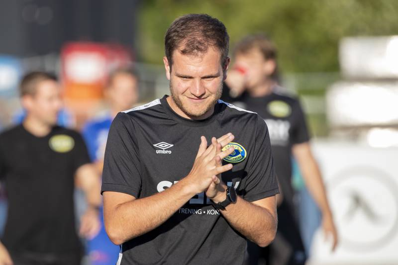 Johan Gjønnes Nilsen skal lede Grorud ut sesongen. Foto: Terje Pedersen / NTB