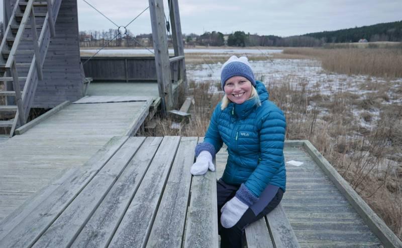 Elin Tvete (Sp) skal bruke mer tid med døtrene i barndomstraktene ved Kjennetjern naturreservat i Onsøy. Hun stilte en mulig stortingsplass til disposisjon etter tvillingenes ønske.