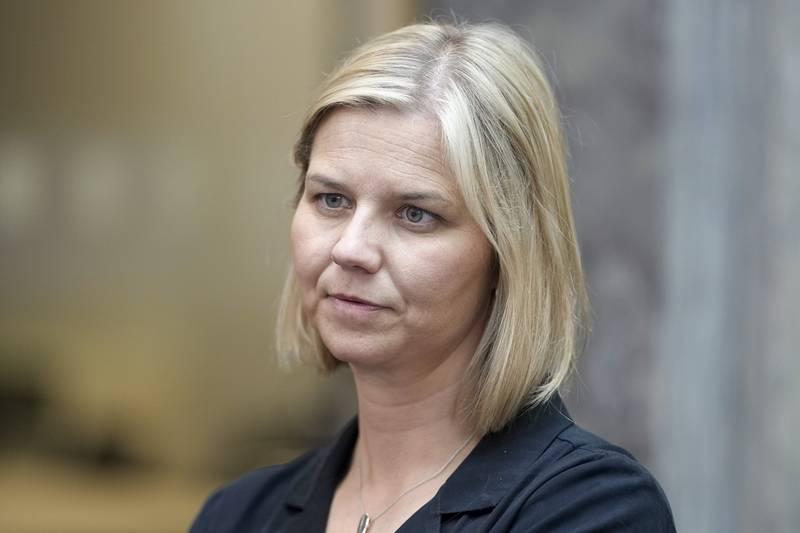Venstre-leder Guri Melby håper på drahjelp fra skuffede sosialdemokrater i valgkampen. Foto: Fredrik Hagen / NTB