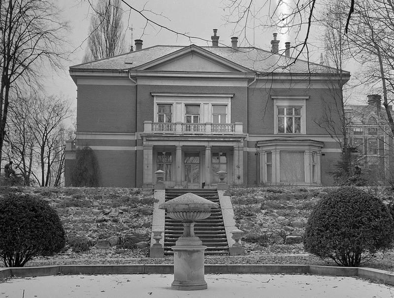 Villaen i Professor Dahls gate 32 fotografert da Norsk Revmatikerforbund fikk festekontrakt i 1964.