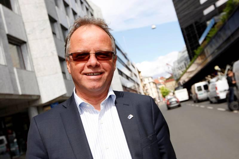 Øyvind Halleraker er frimurer. Foto: NTB Scanpix