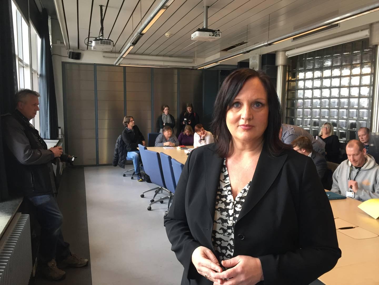 Leder i Utdanningsforbundet Oslo, Aina Skjefstad Andersen.